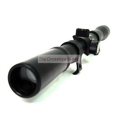 NEW CROSSBOW 4X20 SCOPE FOR HUNTING 150LB 180 150 LB