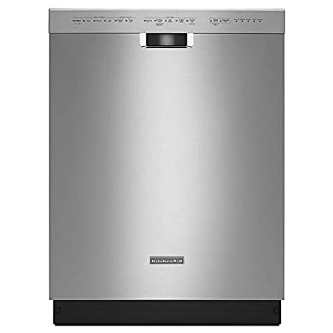Front Control Dishwasher in Stainless Steel with Stainless Steel Tub, ProWash Cycle, 46 dBA (Dishwashers)