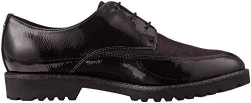 Schwarz Black 21 Damen 1 23206 Oxfords Tamaris F0vIUF
