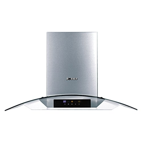FOTILE EH13 30''Wall-Mounted Kitchen Range Hood with LED Lights by FOTILE