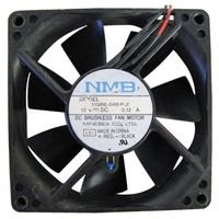 NMB TECHNOLOGIES 3108NL-04W-B30-P00 AXIAL FAN, 80MM, 12VDC, 140mA