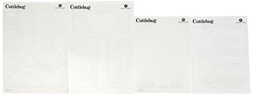 Cuttlebug Provo Craft Embossing Folders, Art Deco