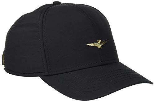 Aeronautica Militare Cappellino, Gorra de Béisbol para Hombre Nero (Nero 0101)