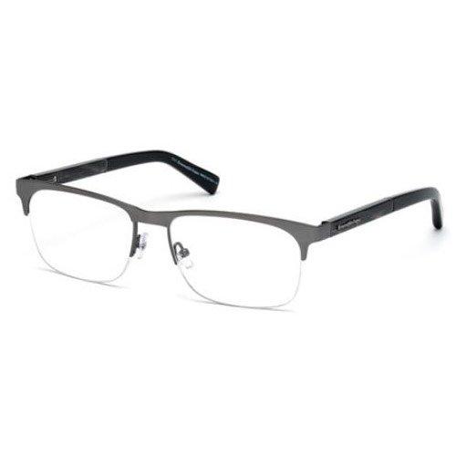 Eyeglasses Ermenegildo Zegna EZ 5014 EZ5014 008 shiny gumetal by Ermenegildo Zegna