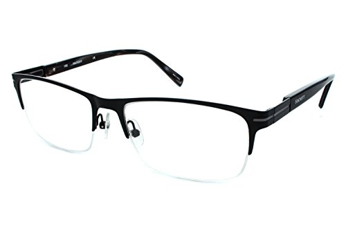 Hackett London Large Fit HEK1111 Mens Eyeglass Frames - Black