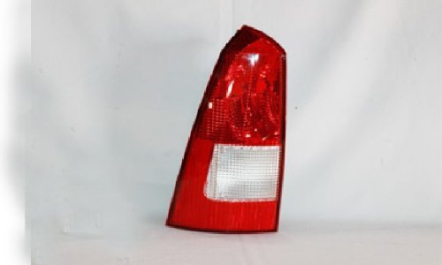 Ford Focus Wagon Replacement Tail Light Unit (Black Housing) - Driver Side
