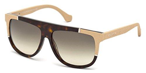 Sunglasses Balenciaga BA 25 BA0025 52B dark havana / gradient smoke