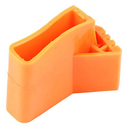 YARNOW - 4 alfombrillas para escalera, patas de escalera, antideslizantes, de goma, almohadillas de pie para escalera plegable, multifuncion, en forma de abanico