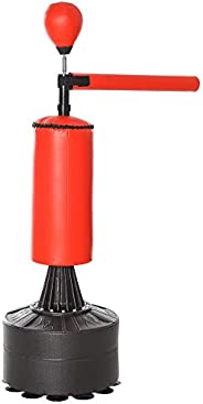 Soozier Boxing Punch Bag Stand with Rotating Flexible Arm, Speed Ball, Freestanding, Waterable & Sandable