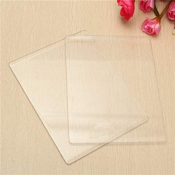 Hardware & Accessories Industrial Hardware - 3mm/5mm Transparent Cutting Embossing Plates Platform Dies Cutter Spacer - 3mm - 1 x Acrylic Cutting Plate (Engine Spacer)