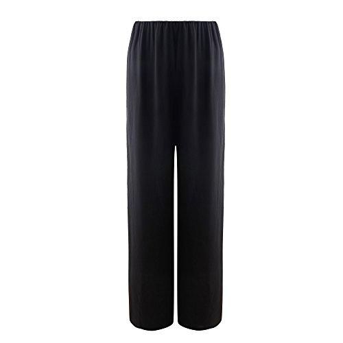 Cheap KUCI® Women Classic Soft Chiffon Chic Wide Leg Palazzo Pants for cheap