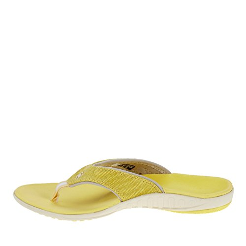 Women's Flip Spenco Yumi Canvas Sandal Flop Sunshine PqtdWtrw
