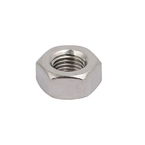 20 Pieces M6 x 0.75 mm Metric Pitch Thread 304 Stainless Steel Hexagon Nuts
