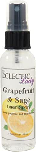 Grapefruit and Sage Linen Spray, 16 ounces