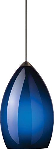 Cobalt Blue Pendant Track Lighting