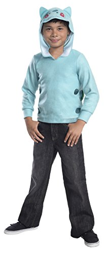 Rubie's Costume Pokemon Bulbasaur Child Novelty Hoodie Costume,