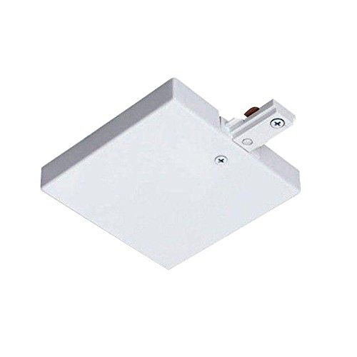 Juno Lighting R36WH T-Bar End Feed, White by Juno Lighting Group