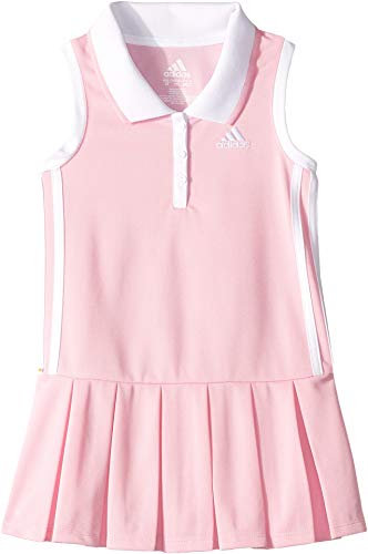 Baby Girl Polo Dress - adidas Kids Baby Girl's Sleeveless Polo Dress (Toddler/Little Kids) Light Pink 2T Toddler