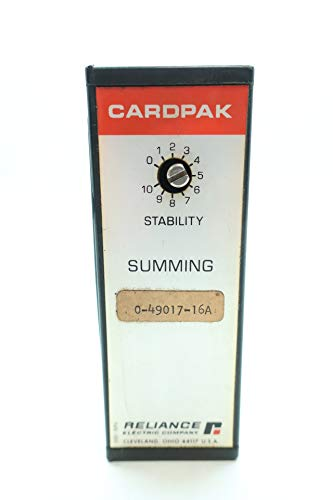 RELIANCE 0-49017-16A CARDPAK SUMMING Module D660050