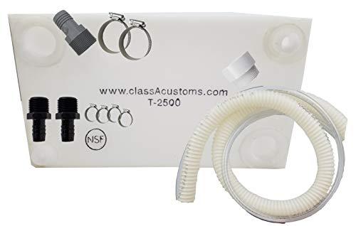 (Class A Customs 25 Gallon Water Tank & Plumbing Kit T-2500-BPK)