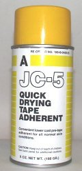 Aeroseptics JC-5 Quick Drying Pre-Tape Dressing Wrap Adherent Spray 6-Oz Aerosol