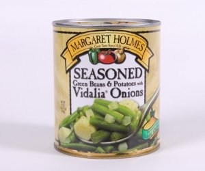 Margaret Holmes Seasoned Green Beans & Potatoes with Vidalia Onions 27 Oz Can