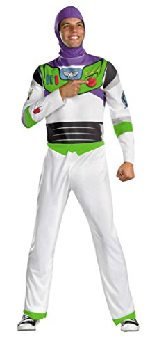 Disguise Mens Classic Disney Toy Story Buzz Lightyear