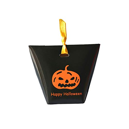 Halloween Baking Supplies Nz (5 Pcs With Ribbon Cookies Festival Decoration Party Pumpkin Candy Bag Handle Biscuits Halloween Snacks Gift)