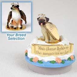 Conversation Concepts Miniature Collie Sable Candle Topper Tiny One Pet Angel Ornament (Collie Ornament Angel Dog)