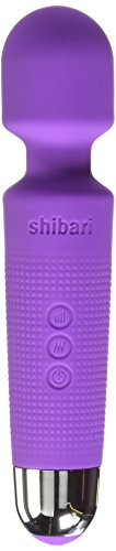 Shibari Mini Halo 20X Multi-Speed Wireless Power Wand Massager, (Power Wand)