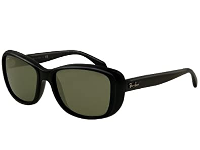 6063a86b418 Image Unavailable. Image not available for. Color  Ray Ban RB4174 Sunglasses-601  Shiny Black (G-15XLT ...