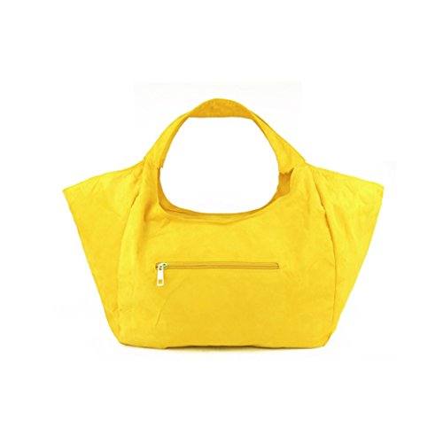 All Hobos Women's Shoulder Suede Bag Bag Yellow match Flowertree Handbag Tote qwFxW