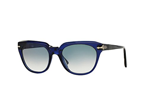 Persol Film Noir Sunglasses 3111 S 181/3f 50x18 Blue / Blue Faded Made In - Italy Persol In Made Sunglasses
