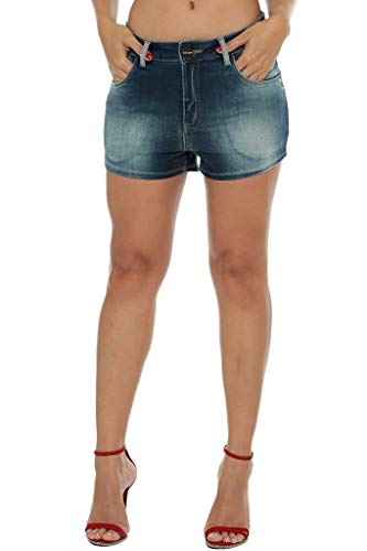 Shorts Osmoze Mid Drop Azul 38