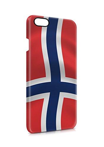 3D iPhone 7 Norwegen Fahne Flipcase Tasche Flip Hülle Case Cover Schutz Handy