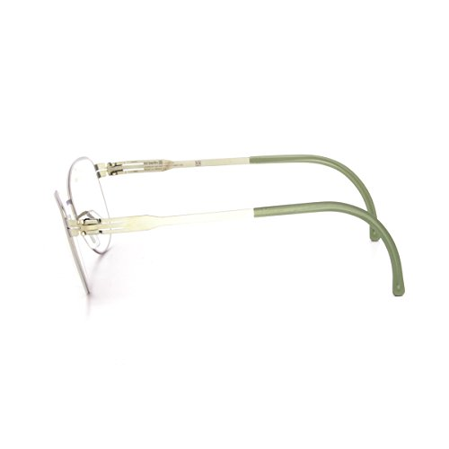 Ic! Berlin Lightly Eyeglasses Electric Light Olive / RX Demo Prescription Lens