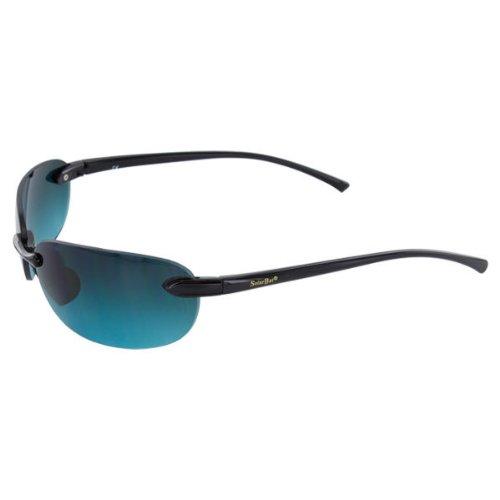 Solar Bat (Solar Bat - Elite South Beach Sunglasses Black - (712BTG))