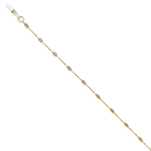 Jewelry : Gold-tone 30in Eyeglass Holder Chain from JE