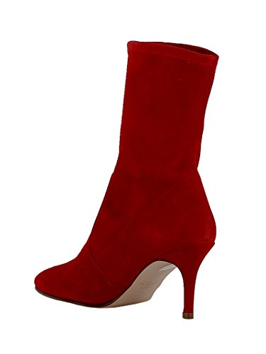 Stuart CLINGRED Bottines Rouge Femme Suède Weitzman B7wqrx8B