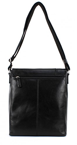 Picard Holy 3 Messenger-Bag vertical 33 cm Black (Negro)
