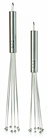 Kitchow Stainless Steel Ball Whisks (Set of 2)