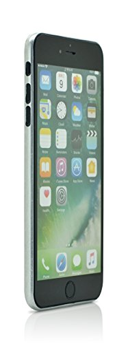 iProtect flexibles Hardcase Schutzhülle Apple iPhone 7 Plus, iPhone 8 Plus Carbon Case brushed grau