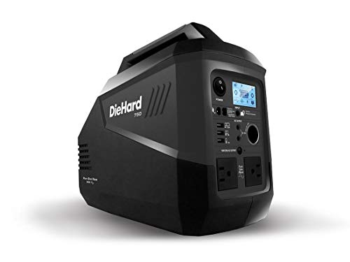 DieHard DH139 750W Silent Portable Power Generator, Rechargeable Lithium Ion Battery Powered, Fume / Fuel Free Uncategorized