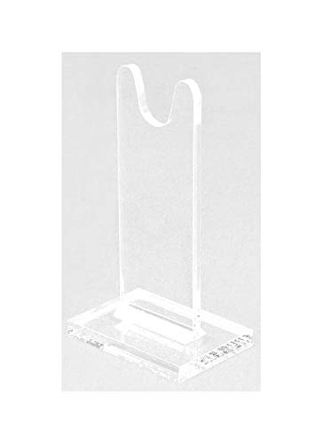 Sword Stands for Antique and Vintage Swords for Displays and Shows. SOLD AS SINGLE UNITS for Mixing Sizes. (usually pick 2) Clear Acrylic. SWS-6 (6 inch)