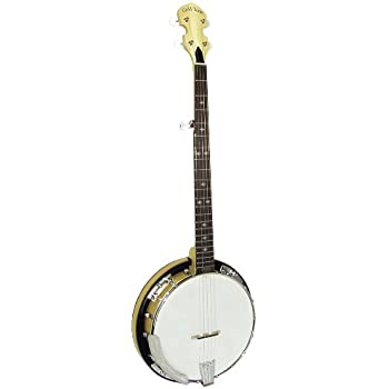 Gold Tone CC-100R Cripple Creek Banjo with Resonator (Five String, Clear Maple)