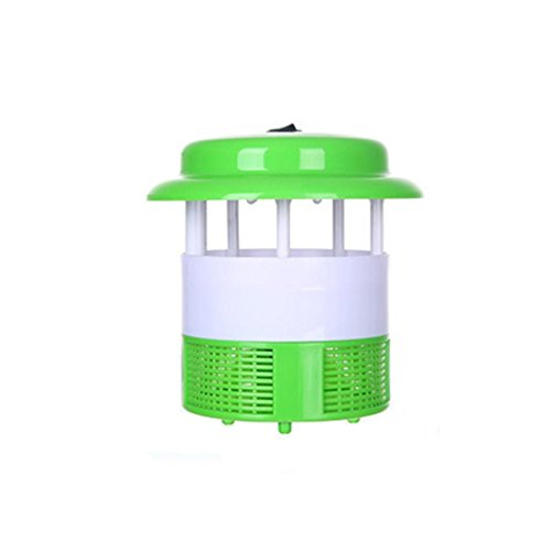 Green Day Trap - Highpot Mosquito Killer and Bug Zapper, LED Night Lamp Fly Trap, Control with Stand LED Night Lamp Pest Repellents Pest Control Baits and Lures Bug Zappers Mosquito Dispeller (Green)
