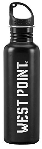 United States Military Academy at West Point - 24-ounce Sport Water Bottle - Black