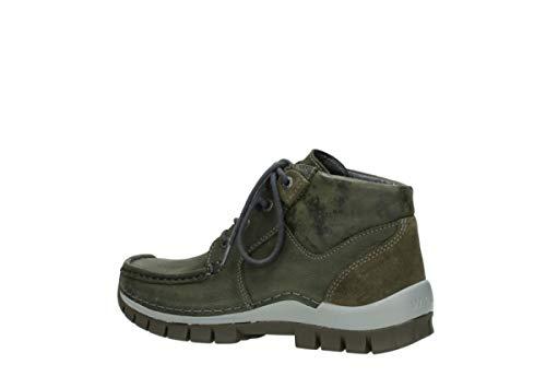 Cross Seamy 11730 Up Lacets Nubuck Comfort Wolky Vert À Chaussures OFxXqwTZP