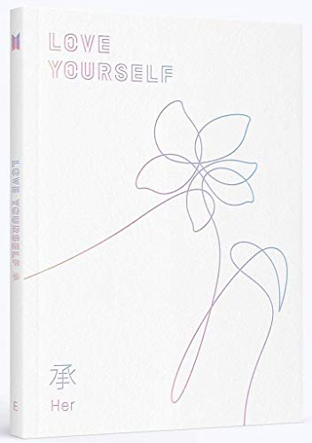 BTS - LOVE YOURSELF 承 [Her] [E ver.] +Photobook+Photocard+Folded Poster+ Store Gift 10 Photo Set