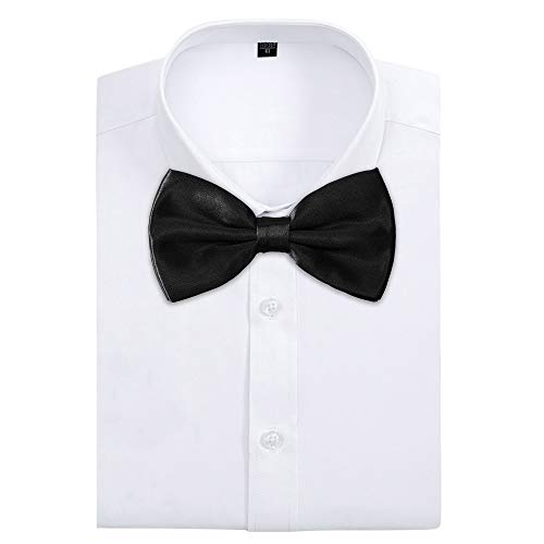 ca2c82a8f7dc AVANTMEN Men's Bowties Formal Satin Solid - 12 Pack Bow Ties Pre-tied  Adjustable Ties for Men Many Colors Option